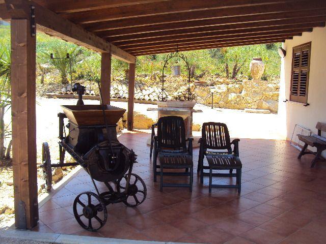 Terraço coberto 2 Locação Vivenda 66027 Scopello