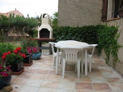 Terraço Locação Apartamentos 10504 Fleury d'Aude