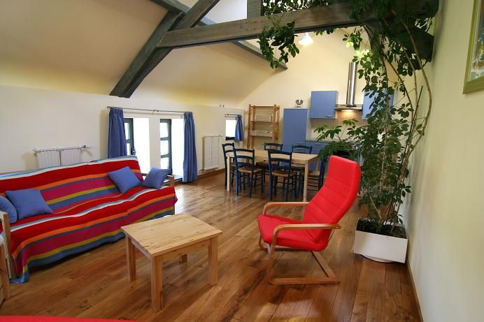 Sala de estar Locação Casa de turismo rural/Casa de campo 13238 Chimay
