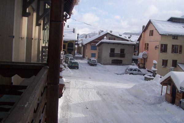 vista da varanda Locação Casa 16964 Montgenevre