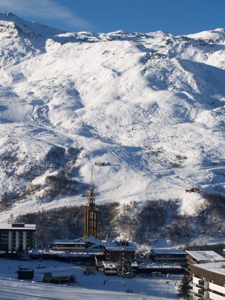 Vista dos arredores Locação Estúdio 1724 Les Menuires