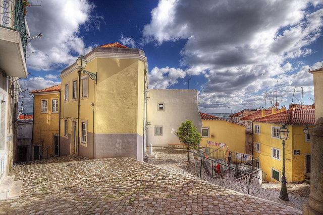 Vista desde do alojamento Locação Apartamentos 26404 Lisboa