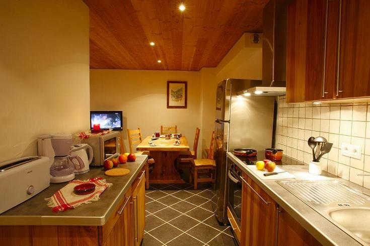 Cozinha americana Locação Apartamentos 27146 Valloire