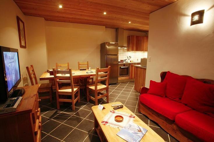 Sala de estar Locação Apartamentos 27146 Valloire