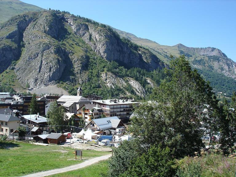 Vista desde do alojamento Locação Apartamentos 27146 Valloire