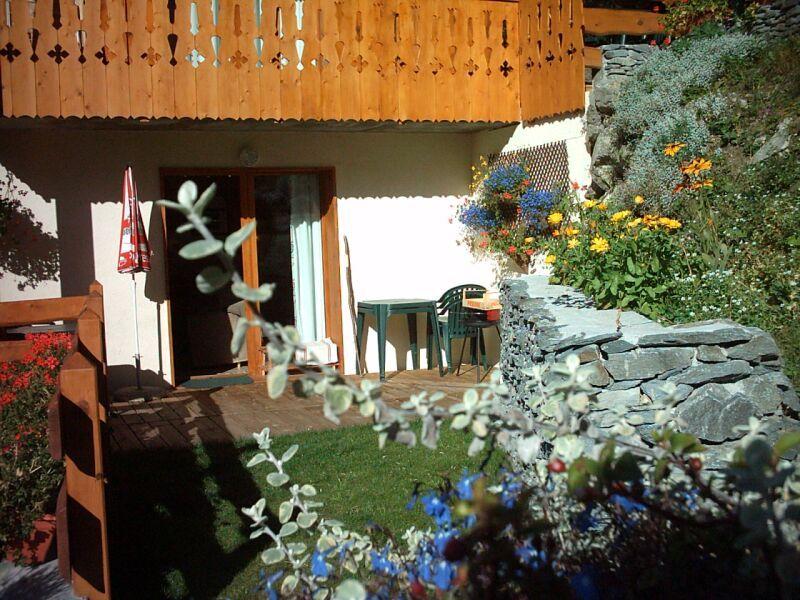 Jardim Locação Chalé 3291 Valfréjus