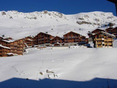 Vista desde do alojamento Locação Apartamentos 3527 Val Thorens