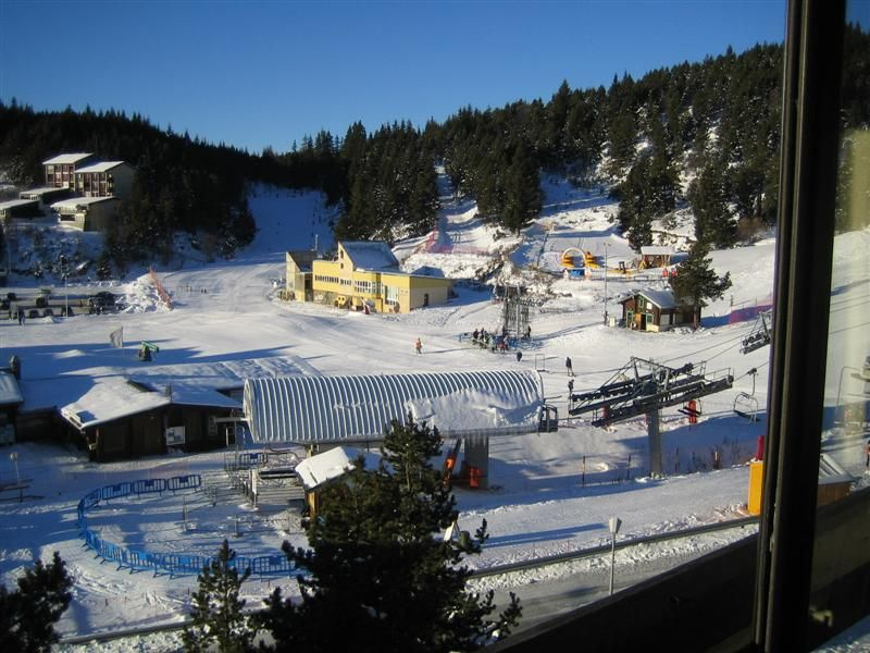 Vista do terraço Locação Estúdio 3983 Bolquère Pyrenées 2000