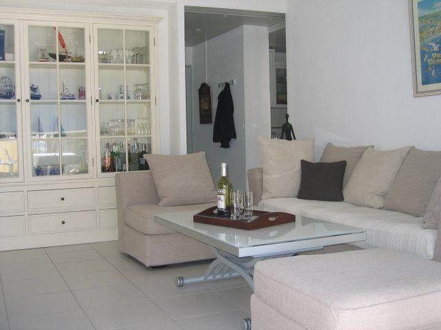Sala de estar Locação Apartamentos 40807 Port Camargue