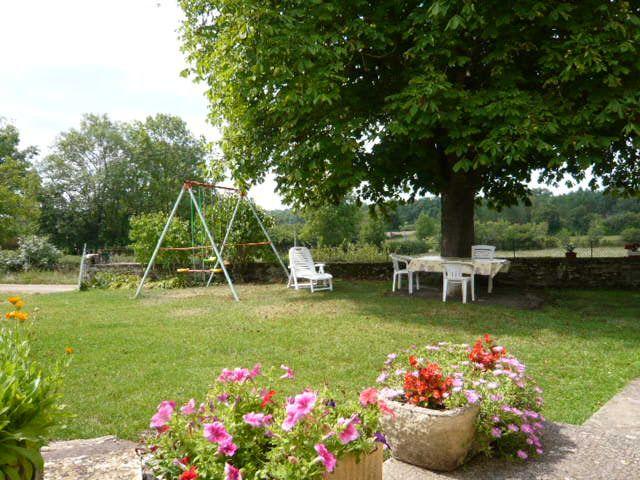 Pátio Locação Casa de turismo rural/Casa de campo 51135 Saint-Cirq-Lapopie