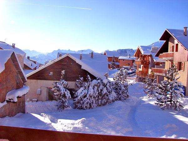 Vista desde do alojamento Locação Chalé 57805 Montgenevre