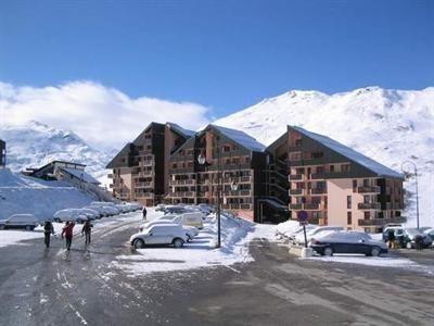 Vista exterior do alojamento Locação Estúdio 59631 Les Menuires