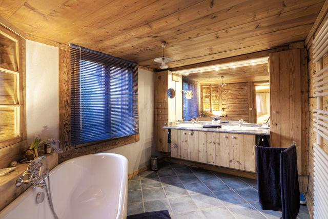 casa de banho Locação Chalé 60510 La Clusaz
