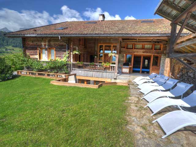 Jardim Locação Chalé 60510 La Clusaz