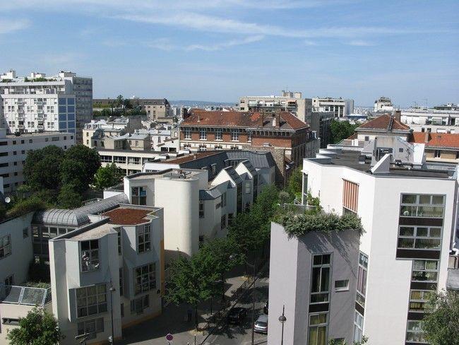 Vista desde do alojamento Locação Estúdio 63317 PARIS