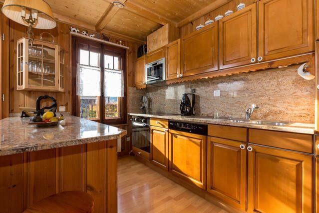 Cozinha americana Locação Apartamentos 647 Chamonix Mont-Blanc