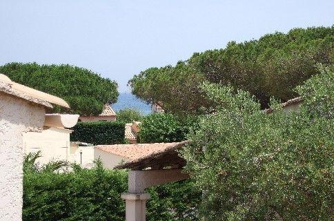 Vista do terraço Locação Vivenda 8541 Sainte Maxime