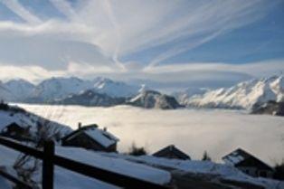 Vista do terra�o Loca��o Apartamentos 81042 Alpe d'Huez
