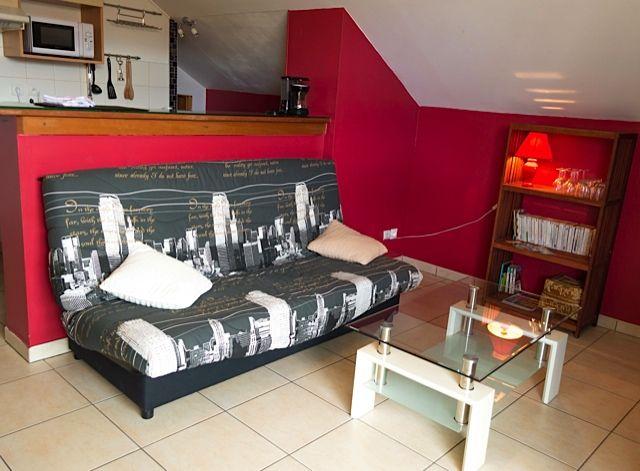 Sala de estar Locação Apartamentos 85760 Saint Leu
