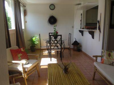Vista do terra�o Loca��o Apartamentos 101968 Gosier (Guadeloupe)