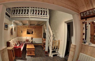 Sala de estar Loca��o Apartamentos 95029 Montchavin les Coches