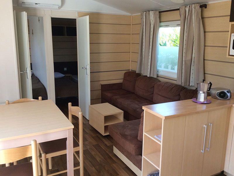 Sala de estar Locação Mobil Home 112067 Valras-Praia