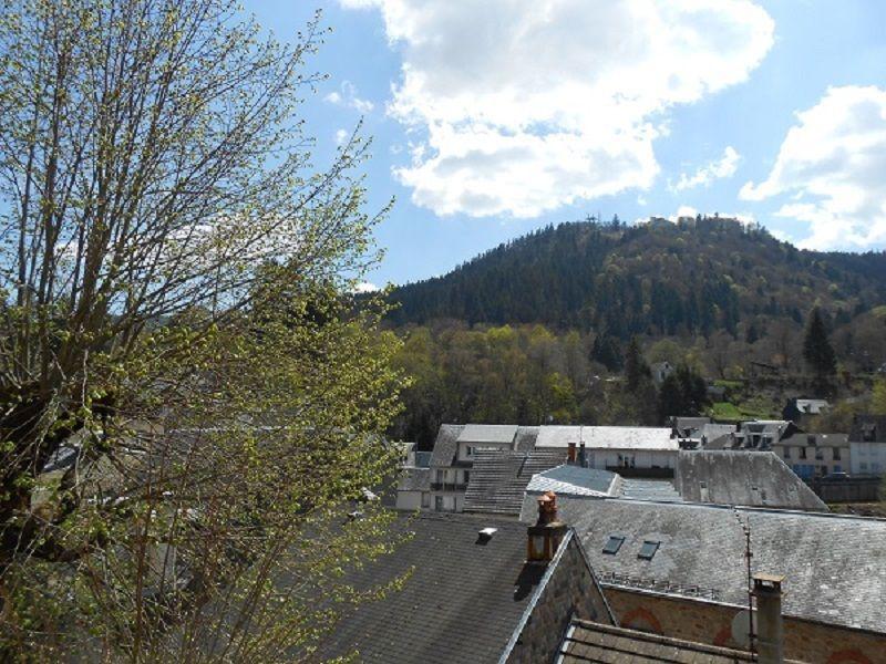 vista da varanda Locação Apartamentos 115202 La Bourboule