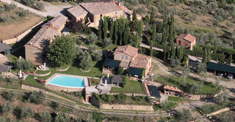 Vista desde do alojamento Locação Casa de turismo rural/Casa de campo 65957 Siena