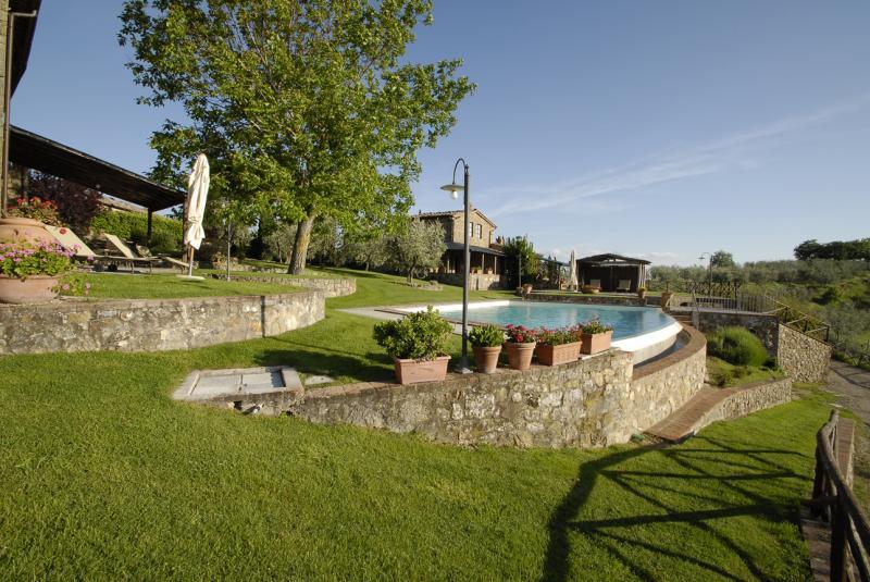 Vista do terraço Locação Casa de turismo rural/Casa de campo 65957 Siena