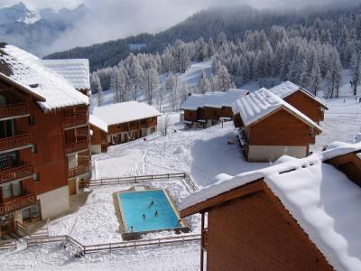 vista da varanda Loca��o Apartamentos 80093 Puy Saint Vincent