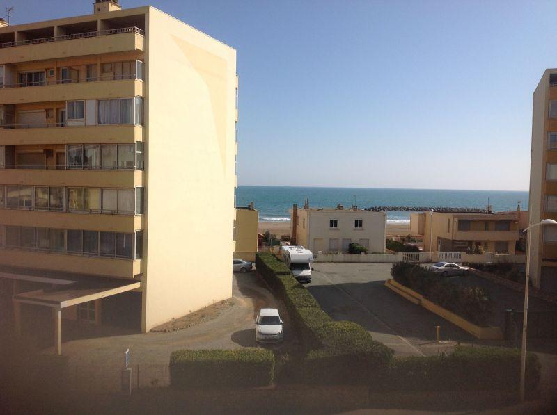 vista da varanda Locação Apartamentos 83377 Valras-Praia