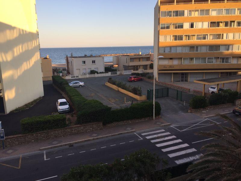 Vista do terraço Locação Apartamentos 83377 Valras-Praia