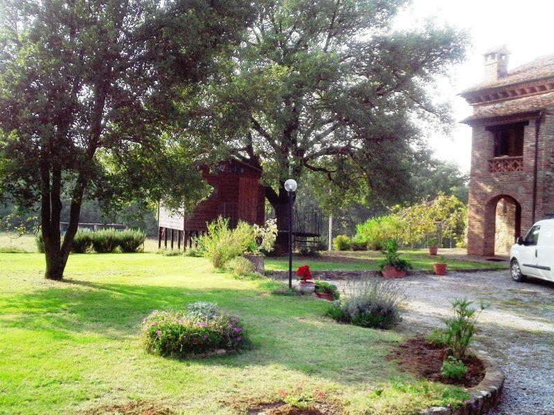 Parque de estacionamento Locação Casa 87280 Cortona