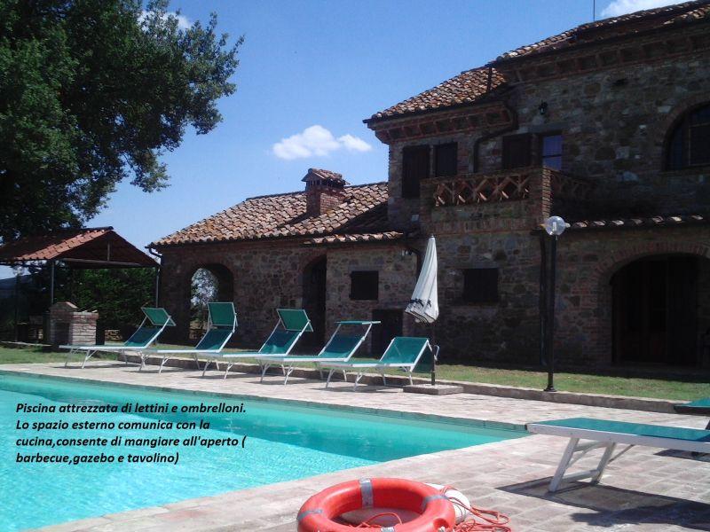 Piscina Locação Casa 87280 Cortona
