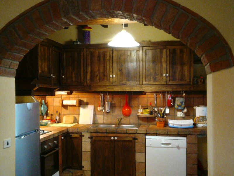 Canto cozinha Locação Casa 87280 Cortona