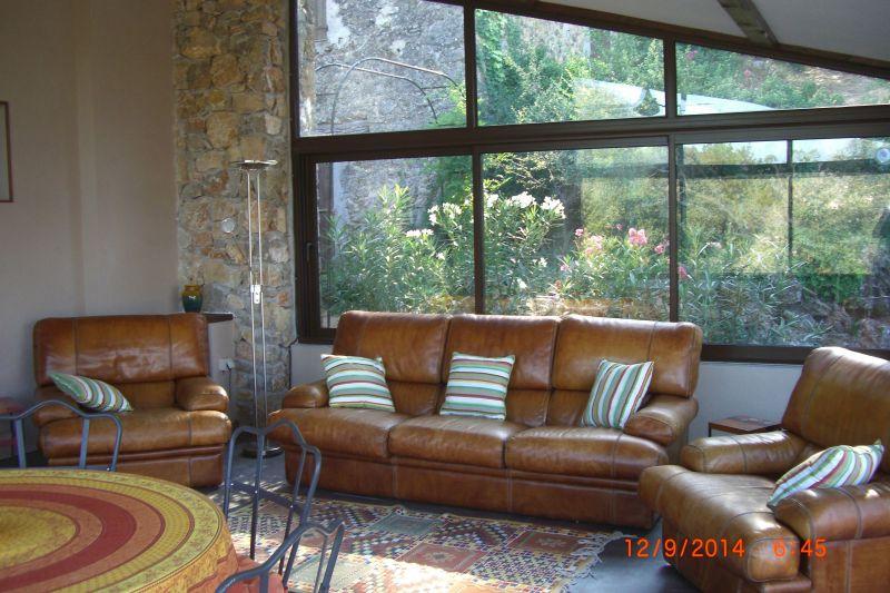 Sala de estar Locação Casa de turismo rural/Casa de campo 113716 Le Thoronet