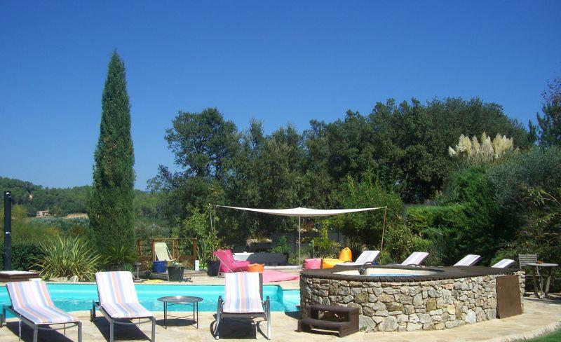 Piscina Locação Casa de turismo rural/Casa de campo 113716 Le Thoronet
