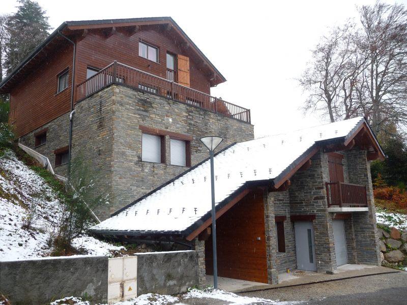 Vista exterior do alojamento Locação Chalé 67772 Ax Les Thermes