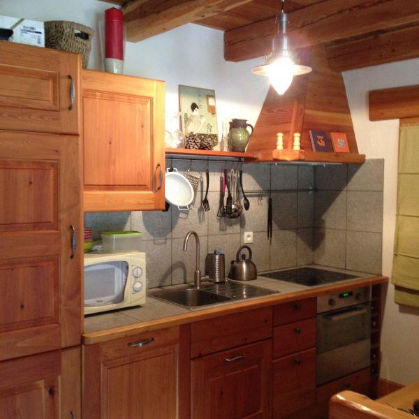 Cozinha americana Locação Apartamentos 100869 Montgenevre