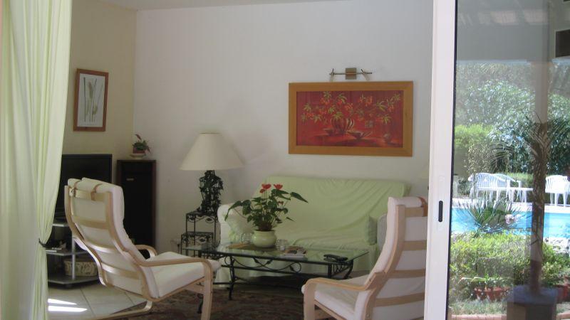 Vista do terraço Locação Vivenda 103900 Saint Raphael