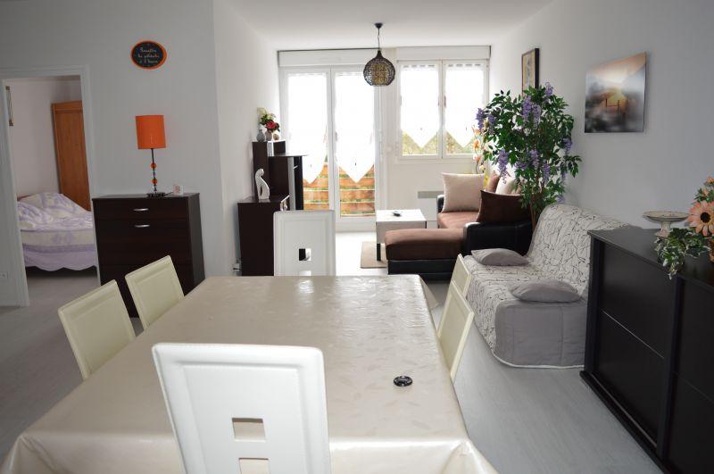 Sala de estar Locação Apartamentos 66948 Les Rousses