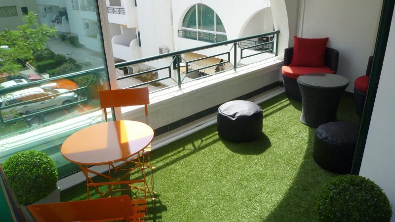 Terraço coberto Locação Apartamentos 77799 Albufeira