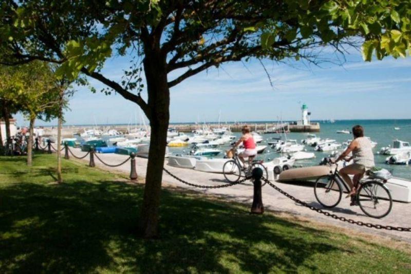 Vista dos arredores Locação Apartamentos 81402 La Couarde-sur-Mer