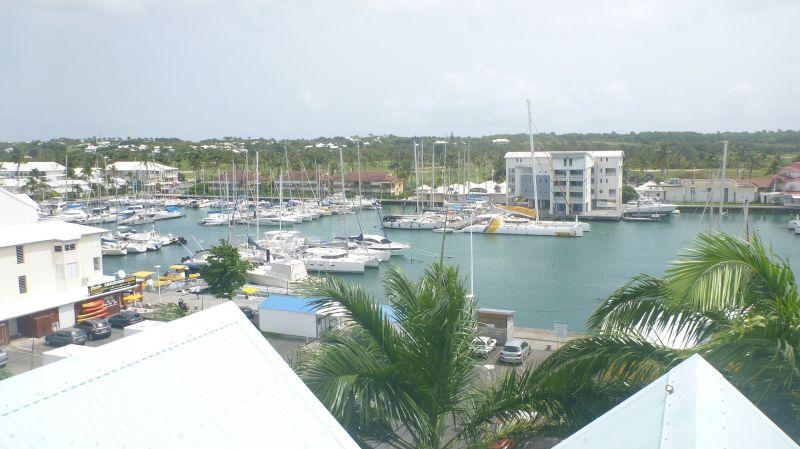 Vista desde do alojamento Locação Apartamentos 82732 Saint Francois
