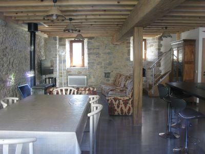 Sala de estar Loca��o Casa de turismo rural/Casa de campo 105705 Le Somport