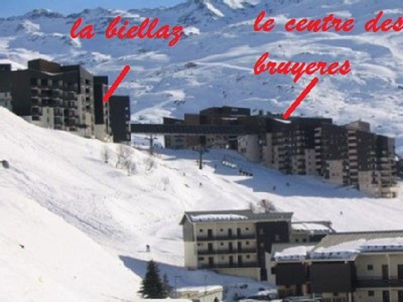 Vista exterior do alojamento Locação Apartamentos 111889 Les Menuires