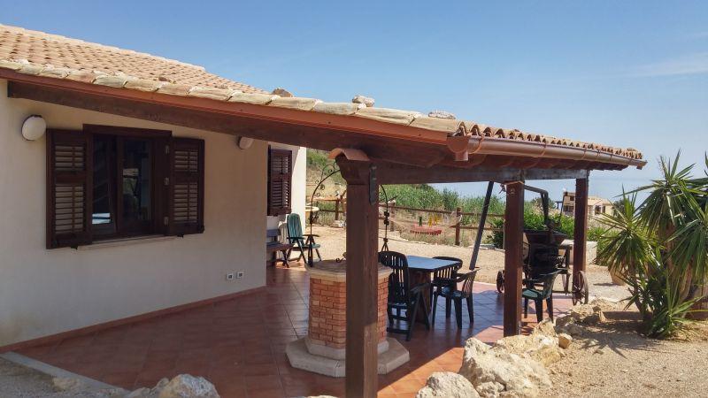 vista da varanda Locação Vivenda 66027 Scopello