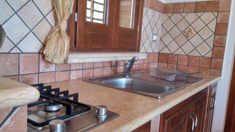 Canto cozinha Locação Vivenda 66027 Scopello
