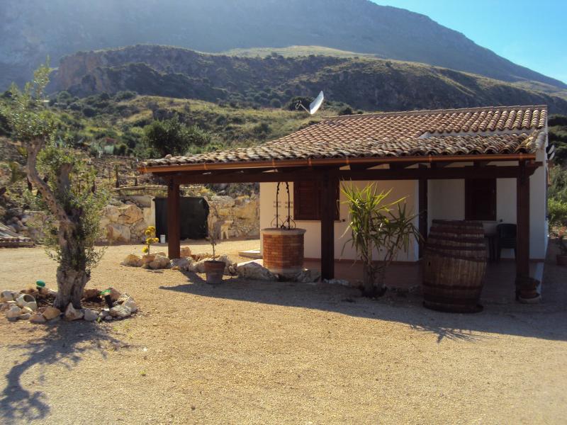 Vista desde do alojamento Locação Vivenda 66027 Scopello