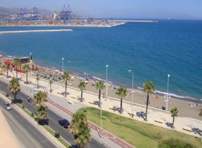 Vista dos arredores Locação Apartamentos 68454 Málaga